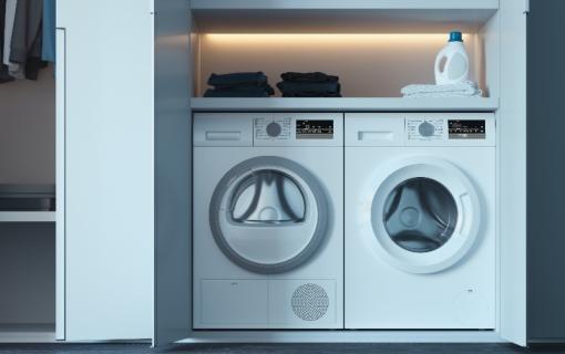 Wasmachine En Droger Set